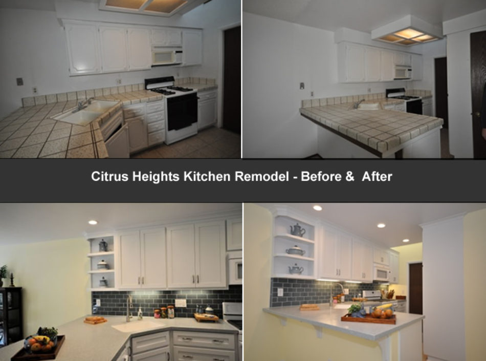 Citru Heights remodeling project by David Lanni Construction - Sacramento, CA