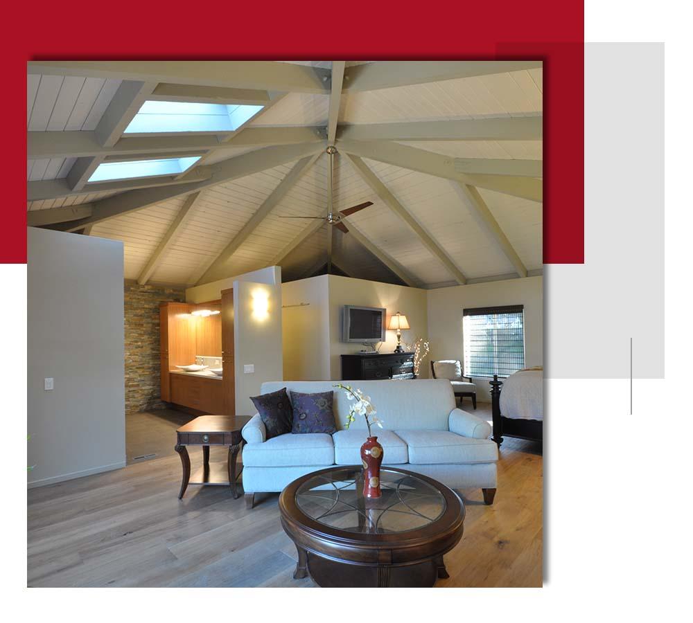 Livingroom remodel by David Lanni Construction