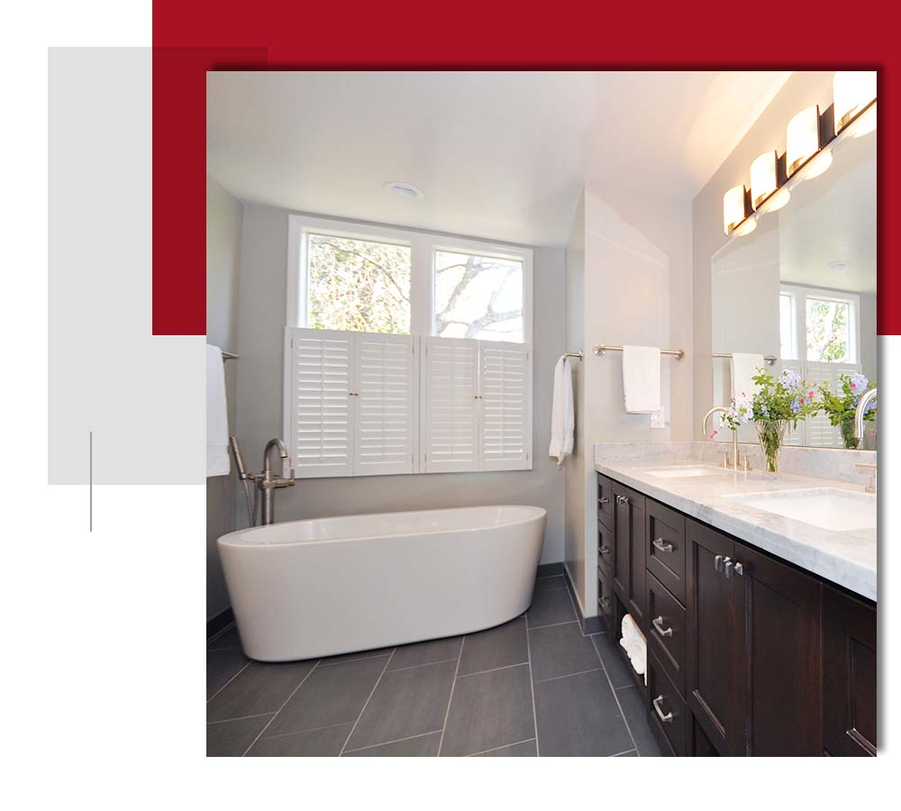 Bathroom remodeling services by David Lanni Construction - Sacramento, CA